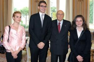 Presidente Napolitano e Premio Venezia
